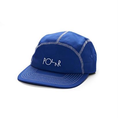 POLAR SKATE CO. ZIG ZAG SPORT CAP Royal Blue