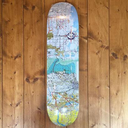 Magenta Skateboards ANTOINE RIVIERE MAP Guest Artist Board - 8.0