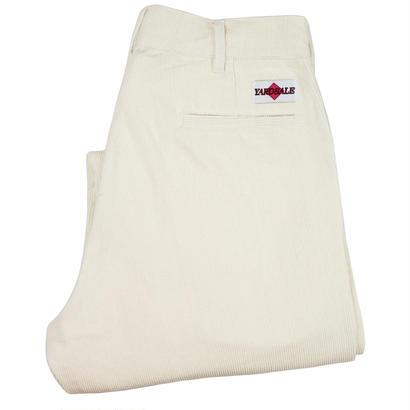 YARDSALE Antique white corduroy slacks