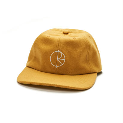 POLAR SKATE CO. WOOL CAP  YELLOW