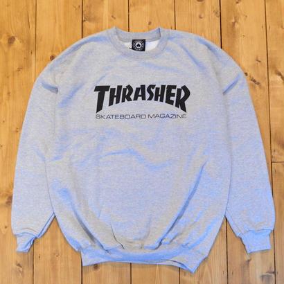 THRASHER Skate Mag Crewneck - Gray