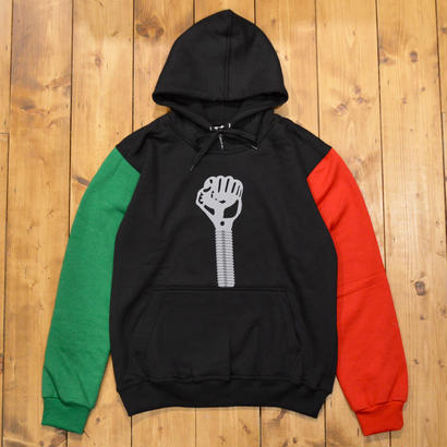 HARDIES HARDWARE TRIPLE COLOR LOGO HOODIE