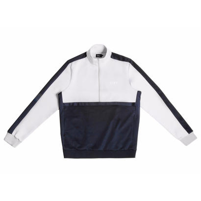 DIME TRACK JACKET GRAY & NAVY