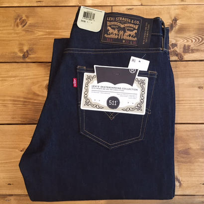 Levi's Skateboarding  511 Slim 5Poket Denim - Rigid Indigo
