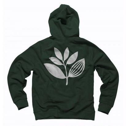 MAGENTA SKATEBOARDS PLANT HOODIE Forest Green