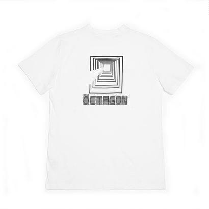 OCTAGON CODIFIED T-SHIRT - WHITE