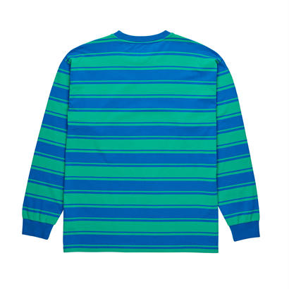 POLAR SKATE CO. TILDA LONGSLEEVE 80's Blue / Mint
