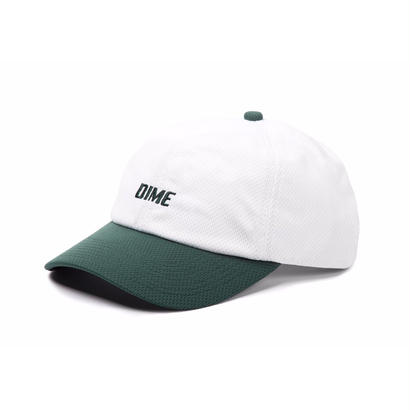 DIME MESH SNAP-BACK CAP WHITE & GREEN