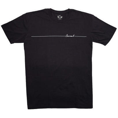 "Canal ""Script Line"" Tee - Navy"