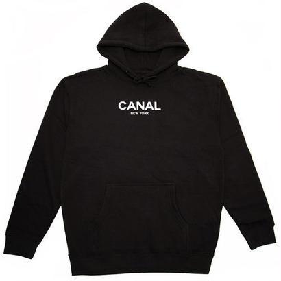"Canal ""Classic Logo"" Black Hoodie"