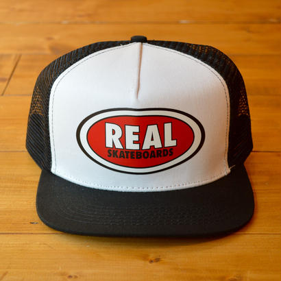 REAL SKATEBOARDS MESH CAP
