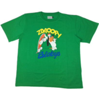 BLOBYS Zdroopy T Shirt Green