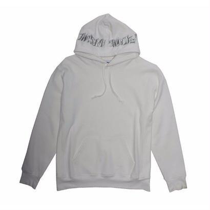 Fucking Awesome  Embroidered Logo Hood - White
