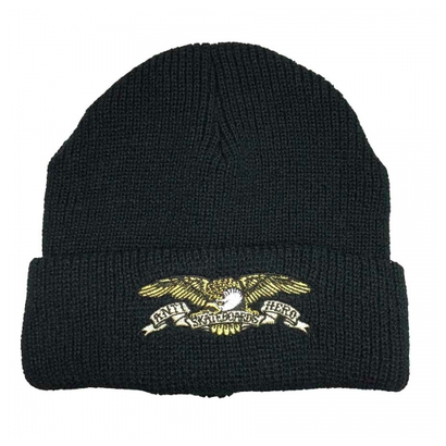 ANTI HERO EAGLE CUFF BEANIE BLACK