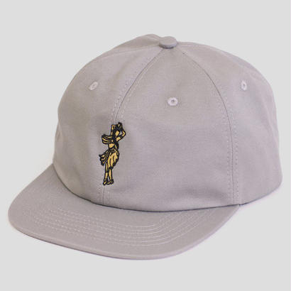 PASS~PORT - INTERNATIONAL LADY ~ 6 PANEL CAP GREY