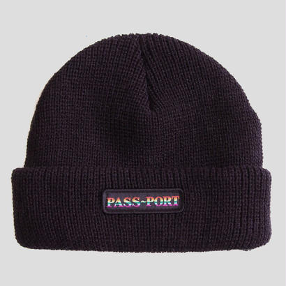 PASS~PORT - PRIDE OFFICIAL BEANIE  BLACK