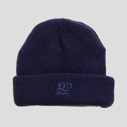"PASS~PORT ""P~P WORKS"" BEANIE NAVY"