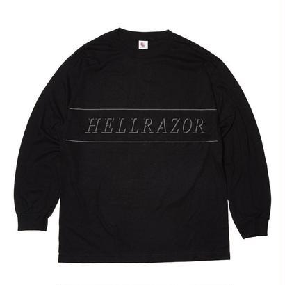 HELLRAZOR REFLECTOR L/S SHIRTS BLACK
