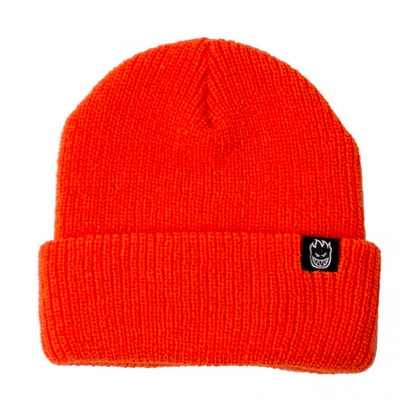 SPITFIRE BIGHEAD CLIP LABEL CUFF BEANIE ORANGE