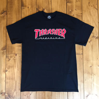 Thrasher Magazine Logo Tee - Black