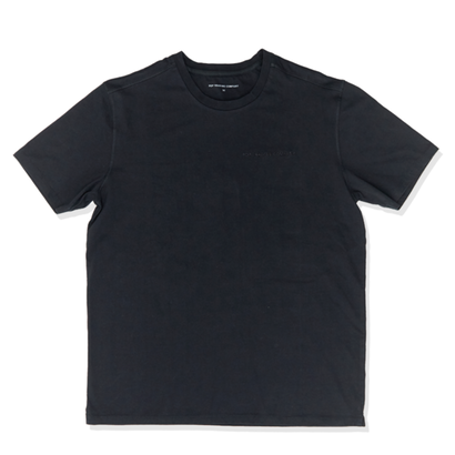 POP TONAL OUTLINE LOGO T-SHIRT BLACK