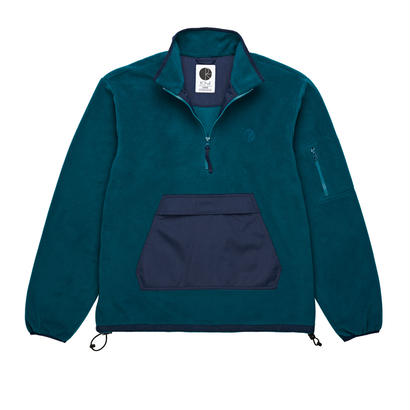 POLAR SKATE CO. GONZALEZ FLEECE JACKET GREEN/NAVY