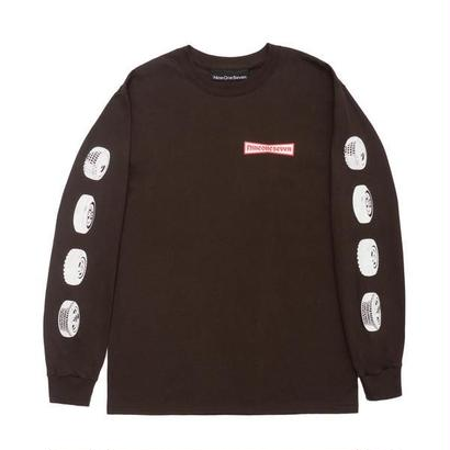 CALL ME 917 91 Stone Long Sleeve T-Shirt Brown