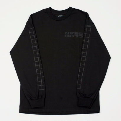 CLUBGEAR Grid Longsleeve - Black/ Black