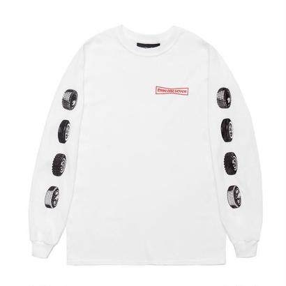 CALL ME 917 91 Stone Long Sleeve T-Shirt White