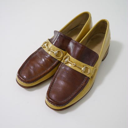 Enamel bit loafer