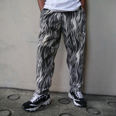 80s animal pattern easy pants