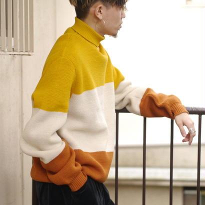 Oversized cotton knit