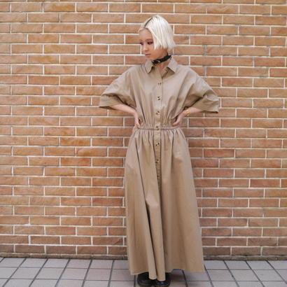 S/S Shirt long dress