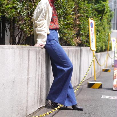 70's denim pants