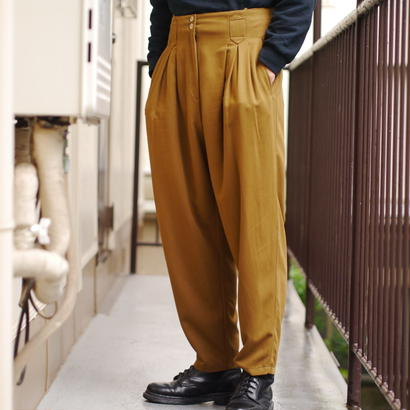 80s high-waist wide pants