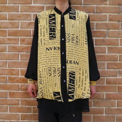 See-through design shirt