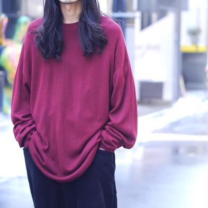 Oversized silk knit