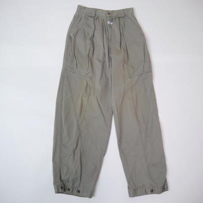 "80s ""MARITHE + FRANCOIS GIRBAUD"" tuck pants"