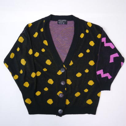 80s pop knit cardigan