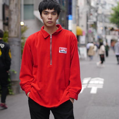 """Marlboro"" reversible fleece sweat"