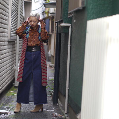"80's ""KENZO"" crochet knit vest"