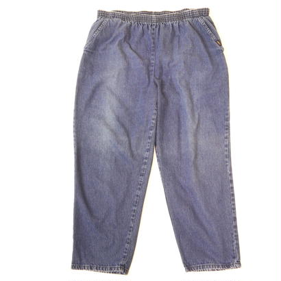 Wide  denim easy pants