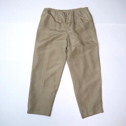 Silk easy pants(BEG)