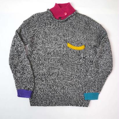 """80s """"GITANO"""" design knit"""