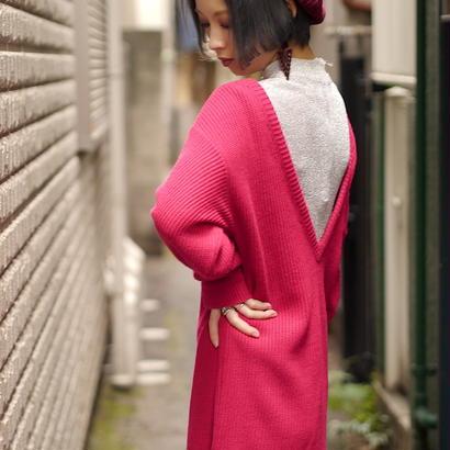 Sexy knit dress