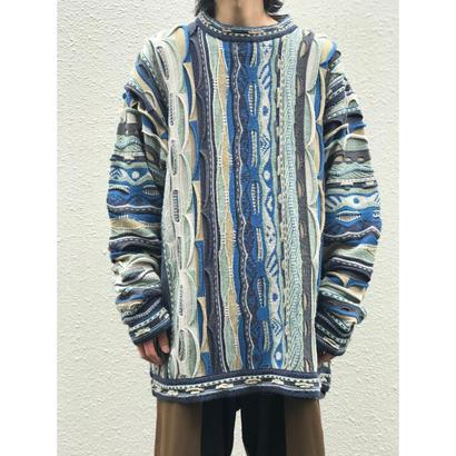 """80年代""""COOGI"""" 3Dニットセーター"""