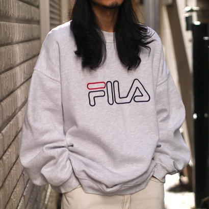"""FILA"" big sweat shirt"
