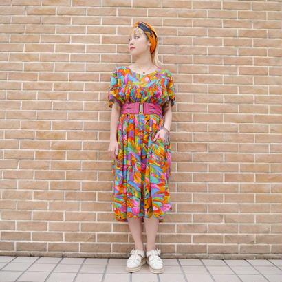 80s Indian cotton dress