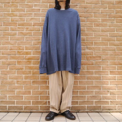 Oversized thermal cut sew