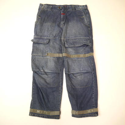 """MARITHE + FRANCOIS GIRBAUD""  denim pants"
